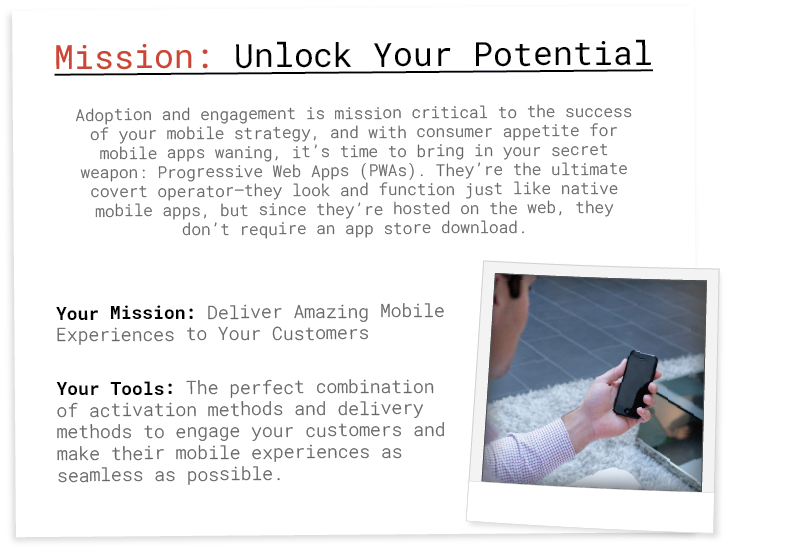 mission: unlock your mobile potential